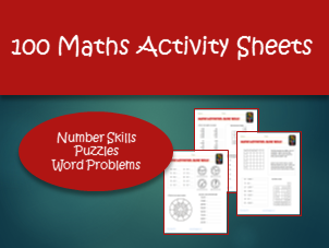 100 Activity Sheets for KS2 Mathematics.  Basic Skills