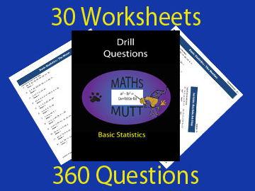 Drill Questions: Basic Statistics