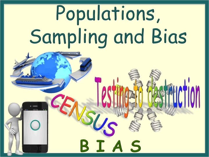 Statistics- Populations, Sampling and Bias Animated PowerPoint GCSE
