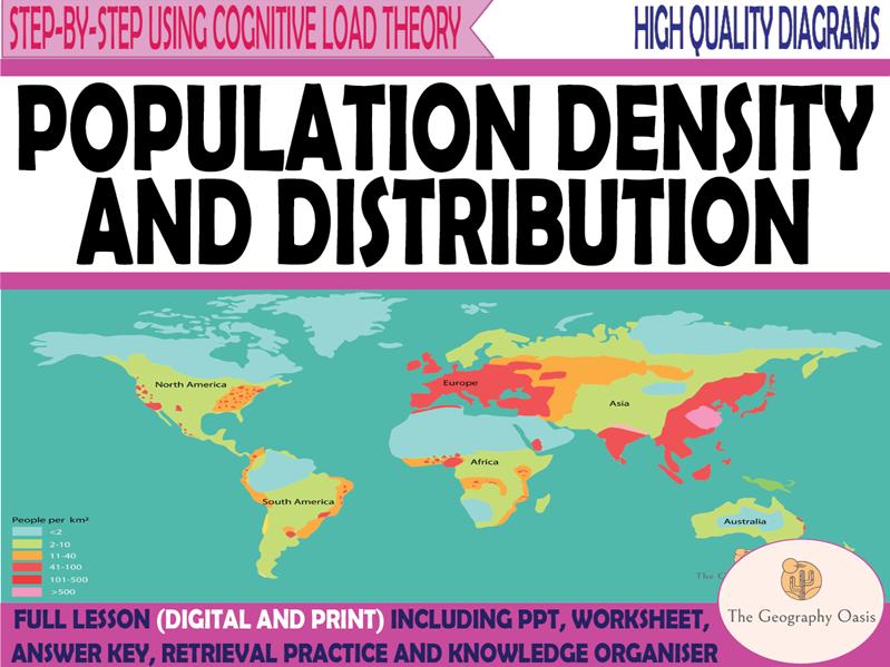 Population Density and Distribution
