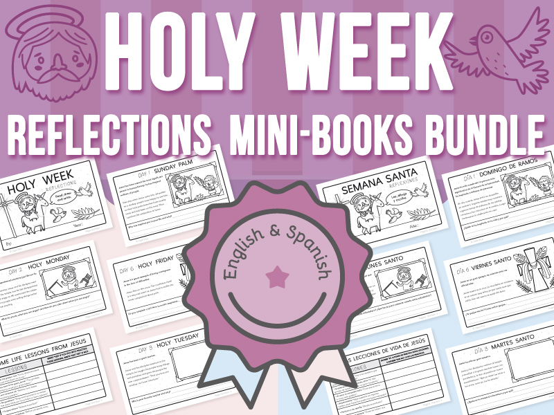 Holy Week Reflections - Mini-Books BUNDLE