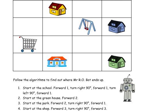 Mr R.O. Bot algorithms