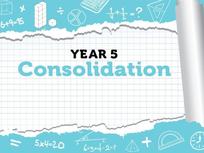 Year 5 - Spring - Week 12 - Consolidation