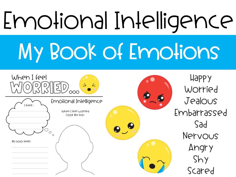 Emotional Intelligence - My Book of Emotions