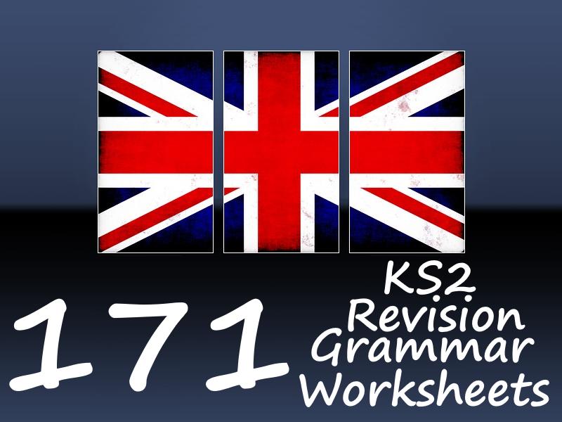 171 KS2 Grammar Revision Worksheets - Fun For Everyone!