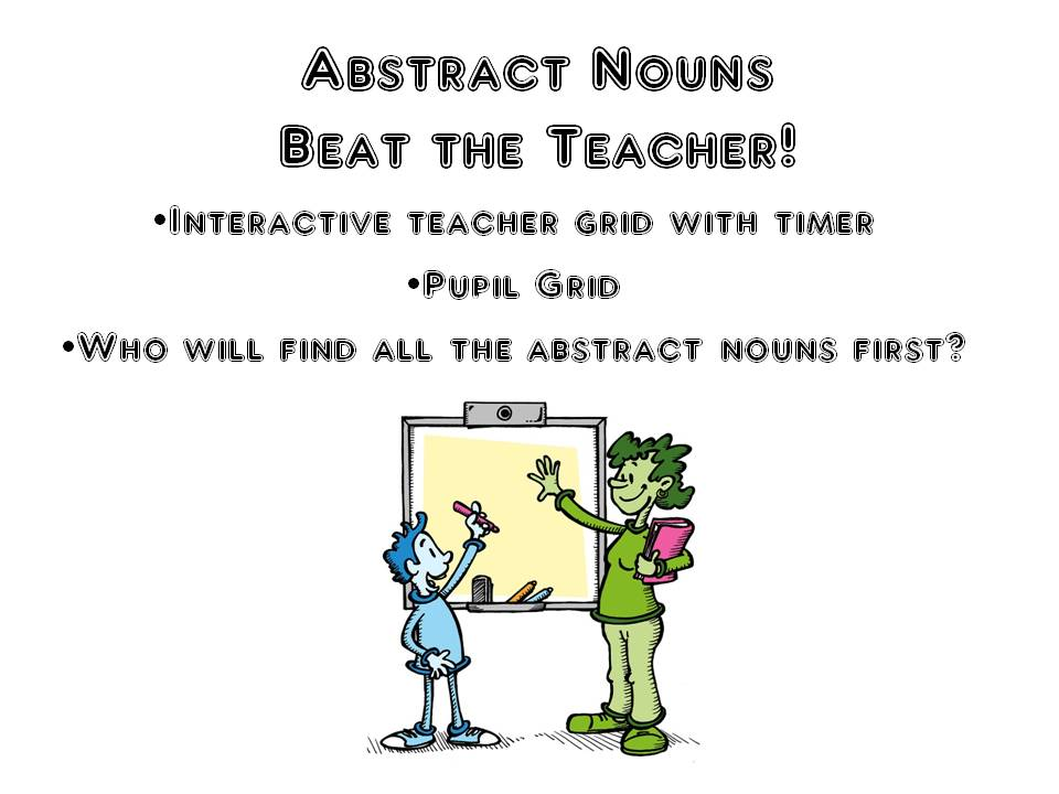 Abstract Nouns Game