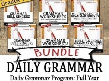 daily grammer bundle