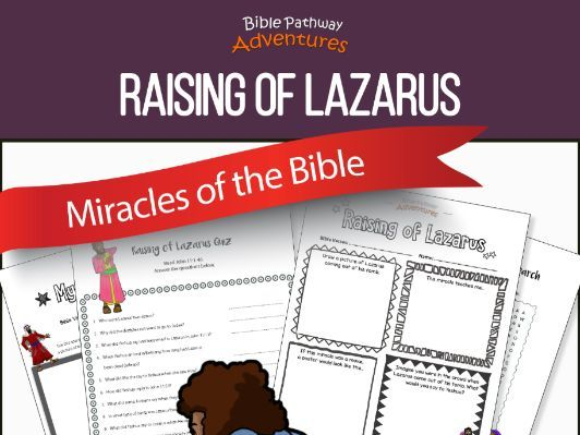Bible Miracles: Raising of Lazarus
