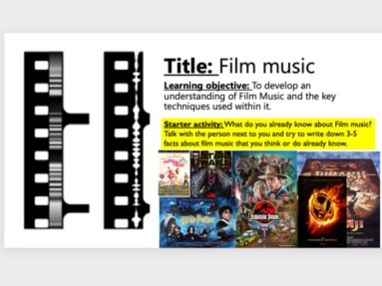 KS3 Film Music SOW- Classroom based