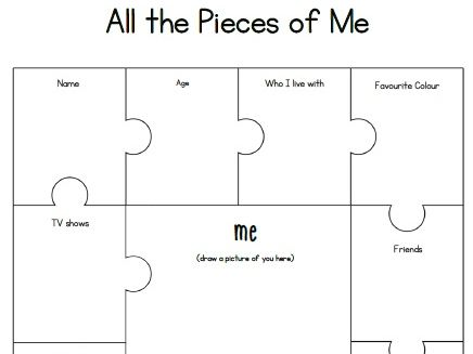 All the pieces of me