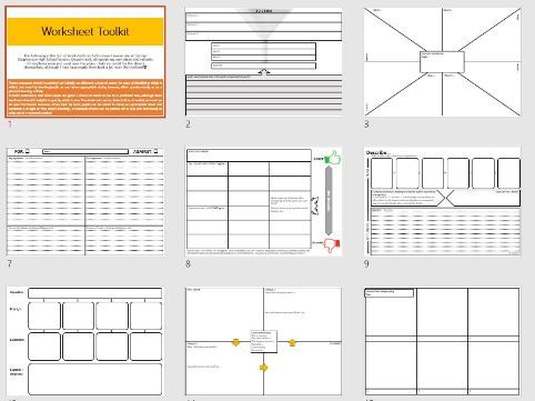 Generic Worksheets Promoting H.O.T.