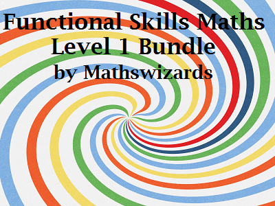 Functional Skills Maths Level 1 PowerPoint Bundle 1