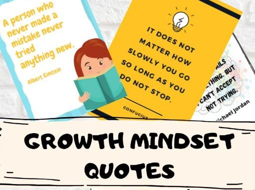 Growth Mindset Motivational Quotes