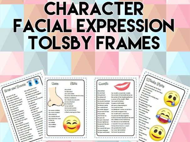 Character Facial Expressions Tolsby Frames