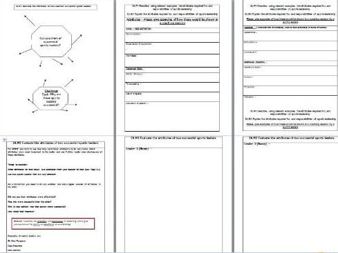 Unit 3 - APPLYING THE PRINCIPLES OF PERSONAL TRAINING BTEC SPORT LEVEL 2 AWARD