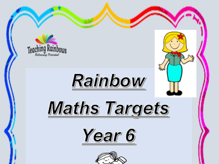 Year 6 - Maths Targets