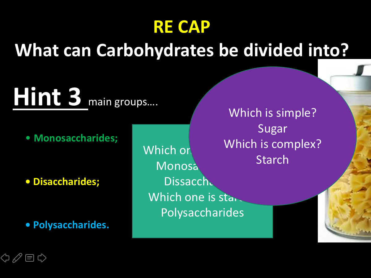 Bulk load on Carbohydrates