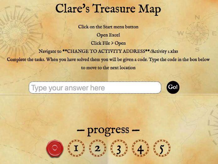 Year 7 Digital Treasure Hunt