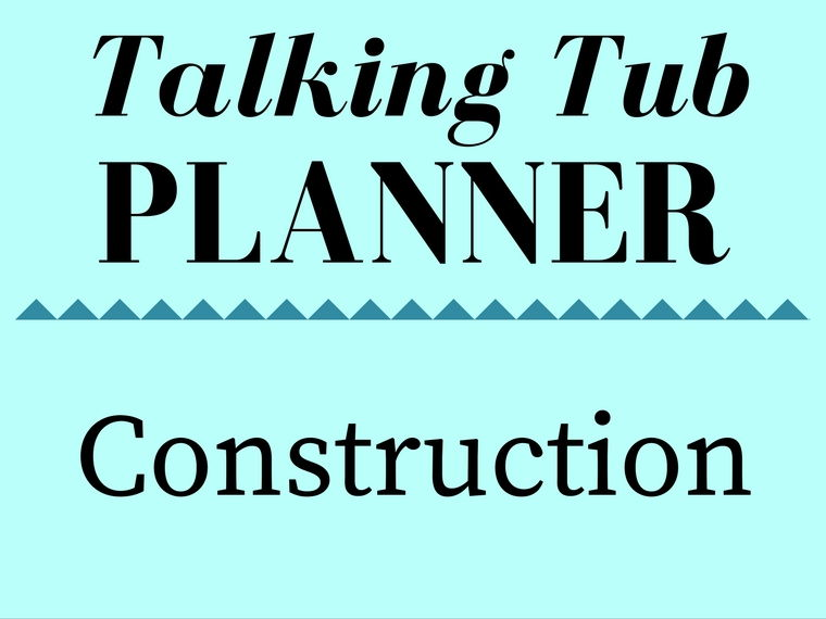 Construction Talking Tub Planner