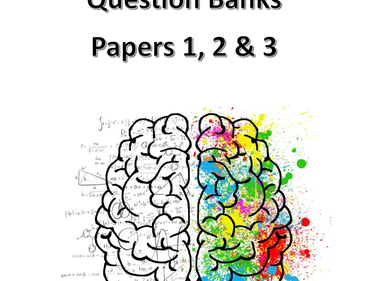 AQA Question Banks: Papers 1, 2 & 3