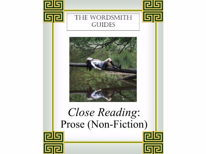 Close Reading: Prose (Non-Fiction), Teaching Copy