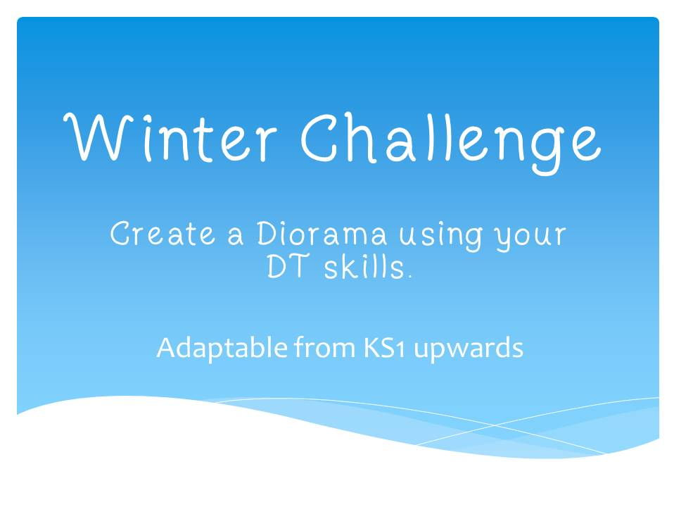 Winter or Christmas Diorama DT Challenge