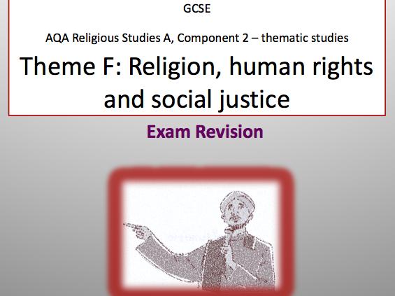 RELIGION, HUMAN RIGHTS & SOCIAL JUSTICE