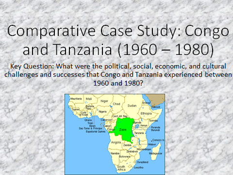 Tanzania and the Congo