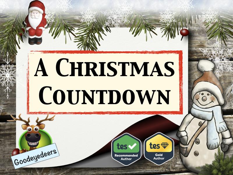 Christmas Countdown - Christmas Poetry Ideas for KS2