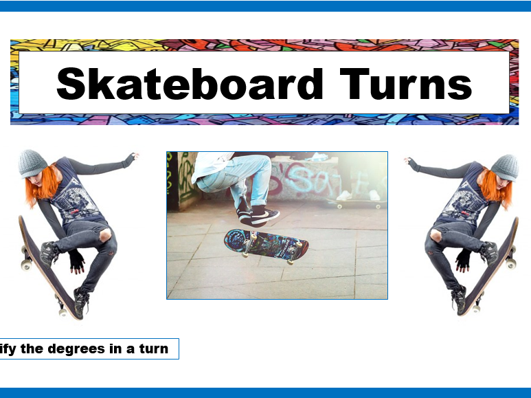 Skater Turns (Degrees in a circle)