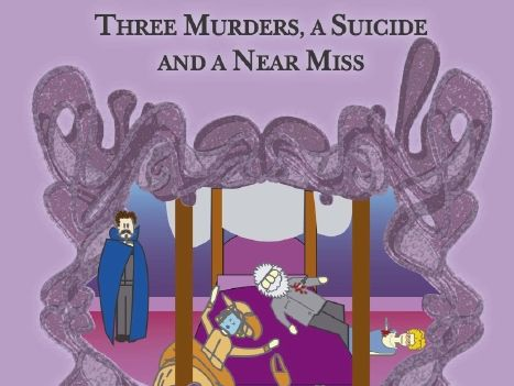 Sample Pages For Three Murders, A Suicide and a Near Miss Play Script