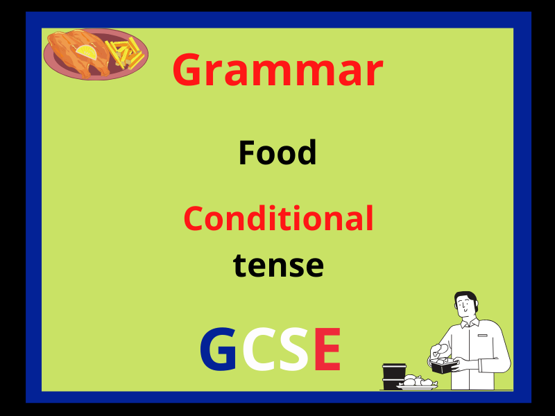 French conditional tense - food