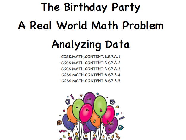 The Birthday Party - Data Graphing in the Real World