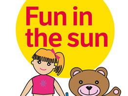 Fun in the Sun storybook