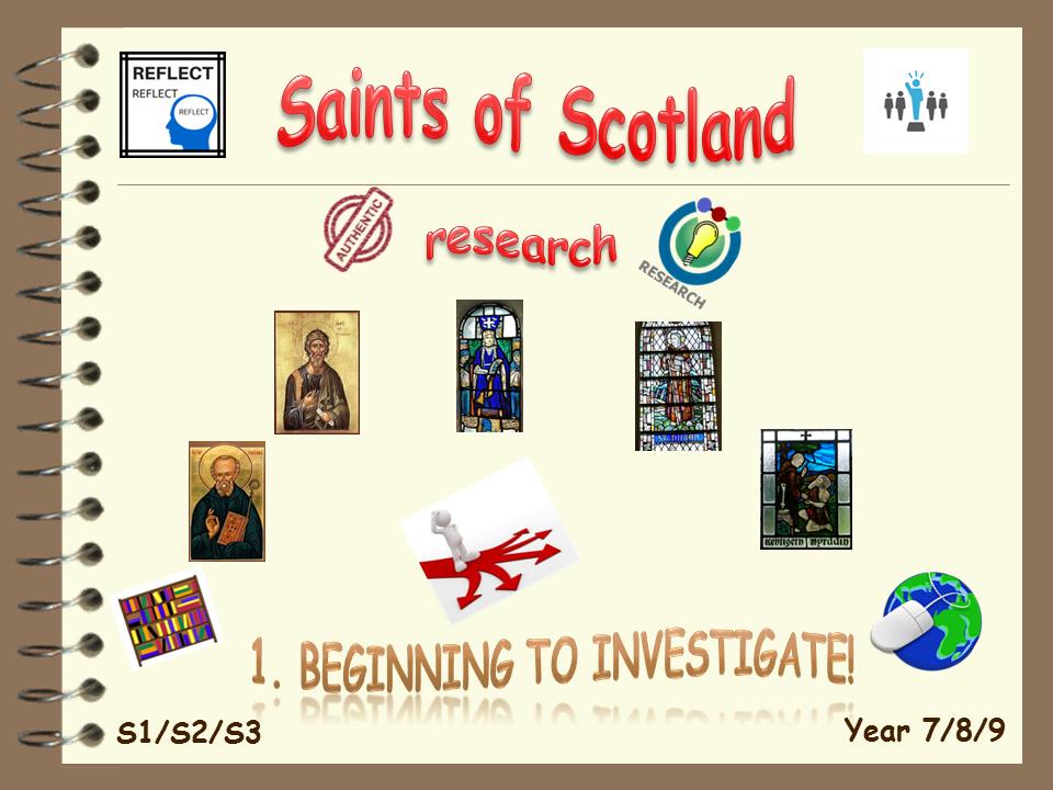 Saints of Scotland 1. Beginning to investigate