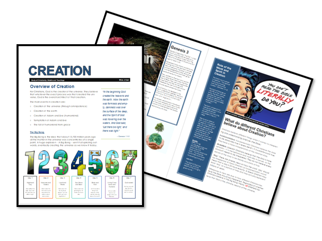 AQA Exam Booklet: Christian Beliefs and Teachings: Creation