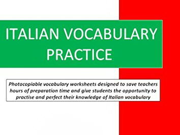 Italian Vocabulary Practice