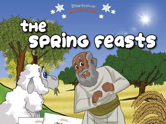 The Spring Feasts Activity Book for Kids Ages 3-5