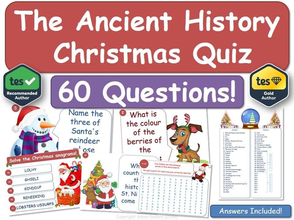 Ancient History Christmas Quiz!