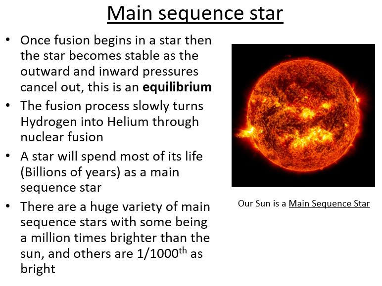 iGCSE Physics - Stellar Evolution (PowerPoint)