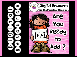 Addition Basic Facts within 20 Practice and Review Digital Resource