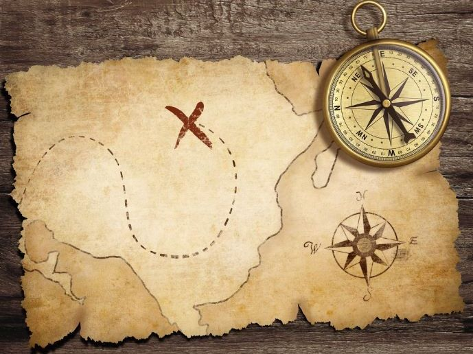 Treasure Hunt (Counting Naturals 1-12)