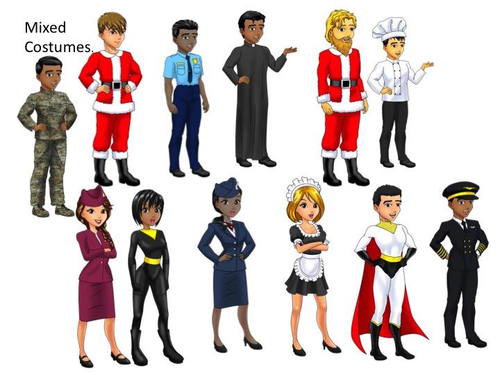 Mixed Costume Avatars