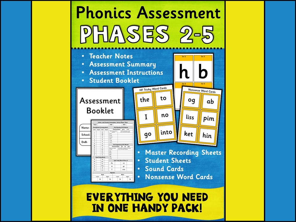 Phonics: Phonics Assessment Phases 2-5
