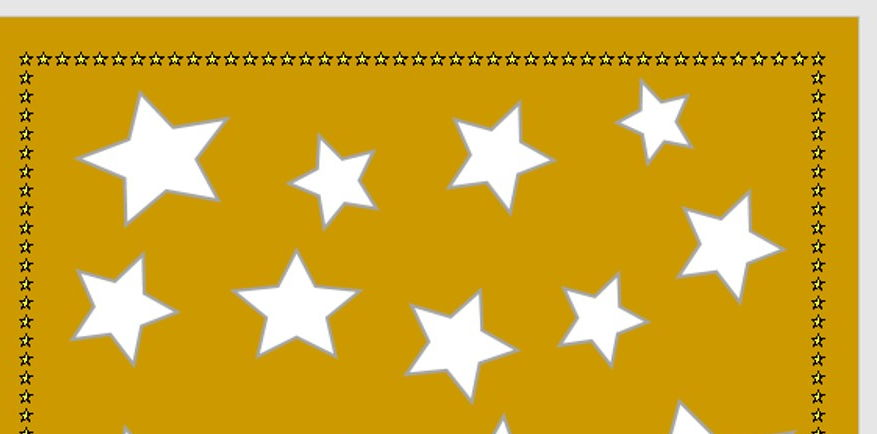 The Gold Star Chart