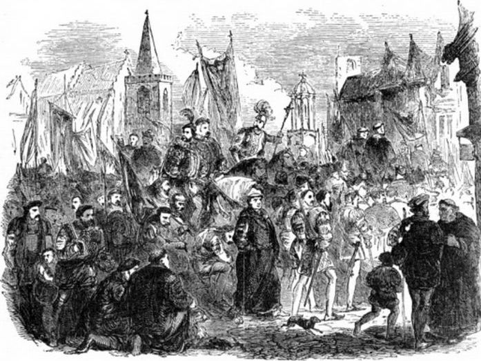 *Updated* The Impact of the Pilgrimage of Grace and Popular Uprising