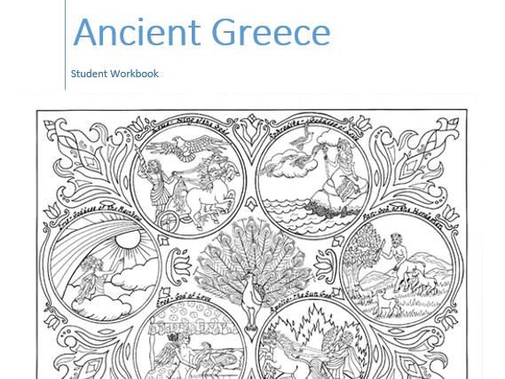 Ancient Greece Workbook - Low Literacy