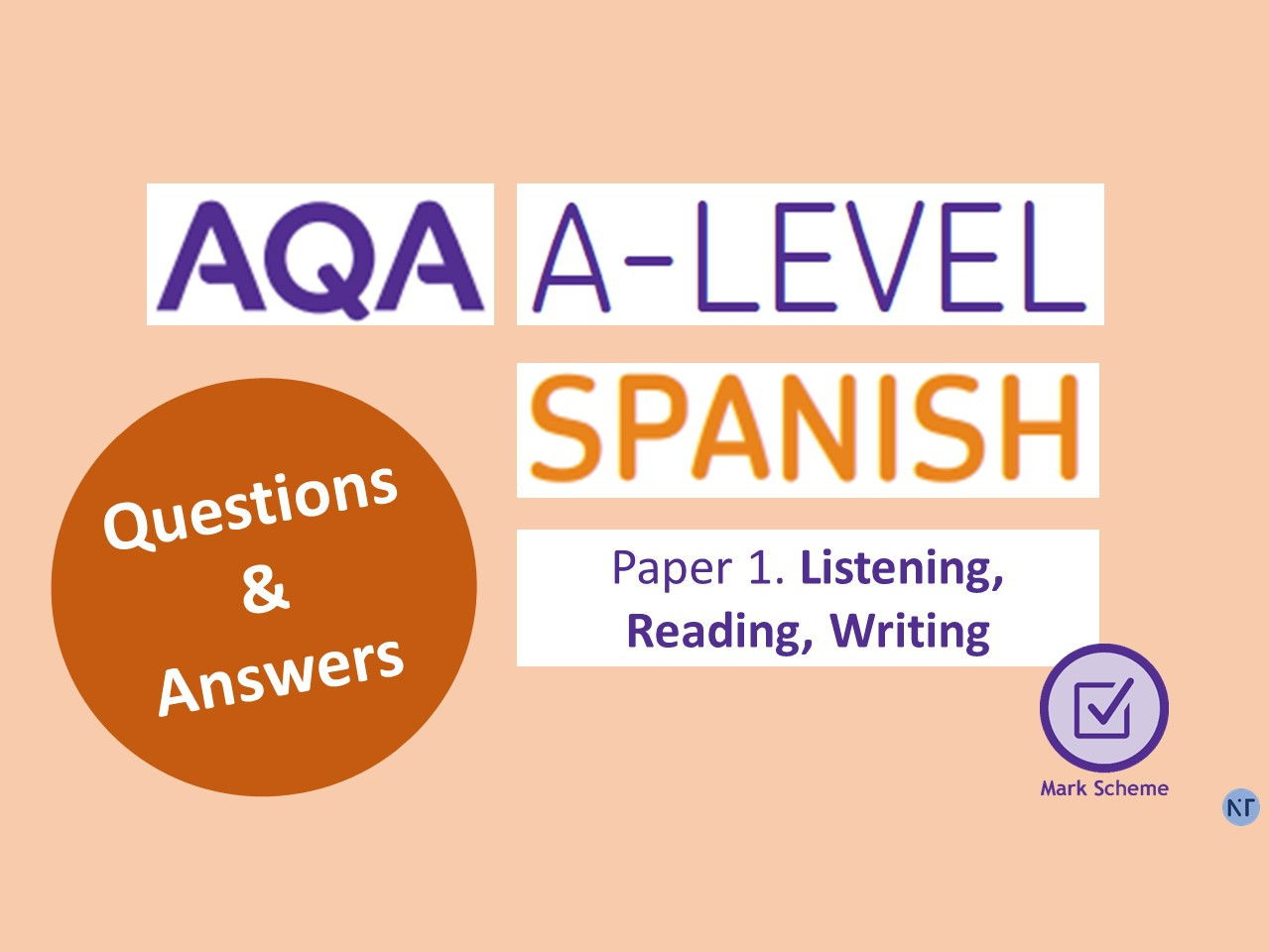 AQA A-Levels Paper 1 and 3