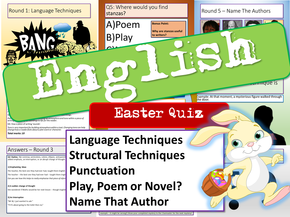 English Easter Quiz