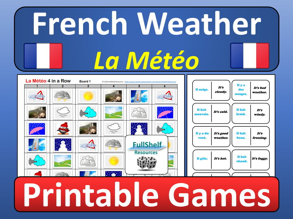 French Weather Games (La Meteo)